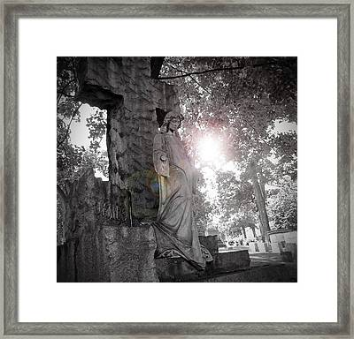 Descend Framed Print