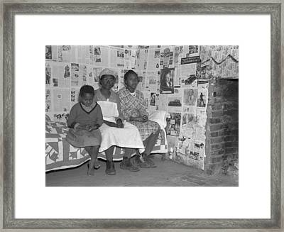 Descendants Of Slaves, 1937 Framed Print by Granger