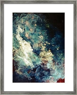 Descensors Framed Print by Kathleen Fowler