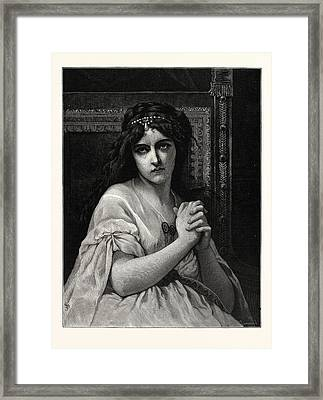 Desdemona. After Cabanal. Desdemona Is A Character Framed Print