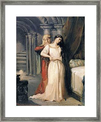 Desdemona Framed Print by Theodore Chasseriau