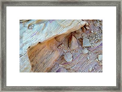 Desert Abstracts 15 Framed Print
