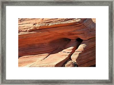 Desert Abstracts 6 Framed Print