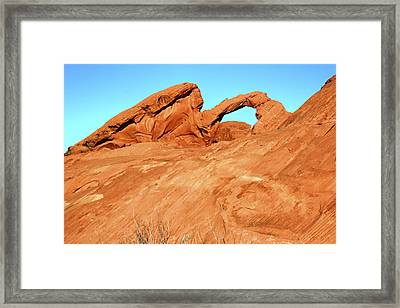 Desert Arch Framed Print by Laura Palmer