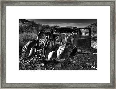 Desert Beauty Death Valley California Framed Print by Bob Christopher
