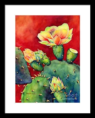 Blooms Paintings Framed Prints