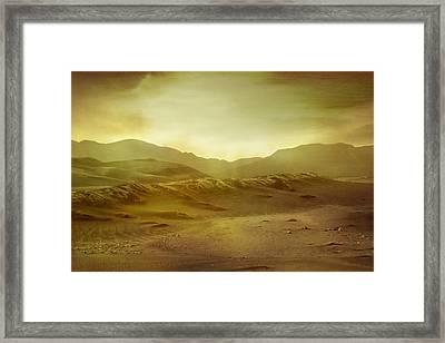 Desert Framed Print by Brett Pfister