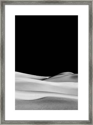 Desert Calm II Framed Print