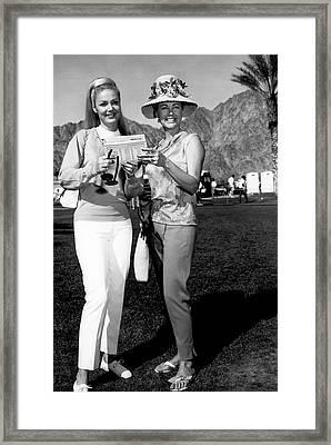 Desert Classic Golf Fashion Framed Print by Underwood Archives
