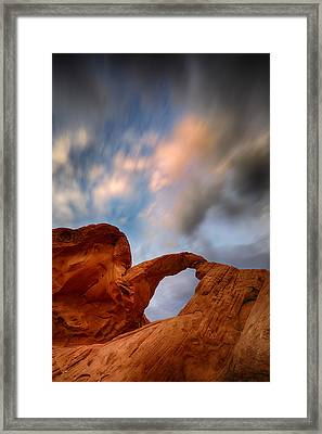 Desert Clouds Framed Print by Rick Berk