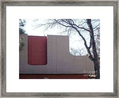 Desert Creek Apts 1 Framed Print