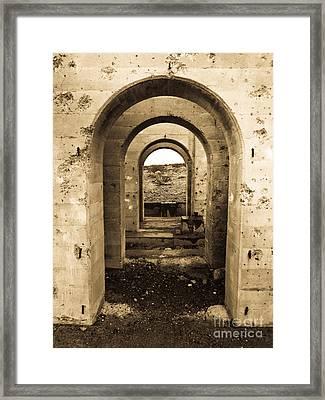 Desert Doorways Framed Print by Dan Julien