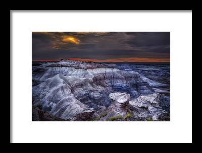 Petrified Forest Framed Prints