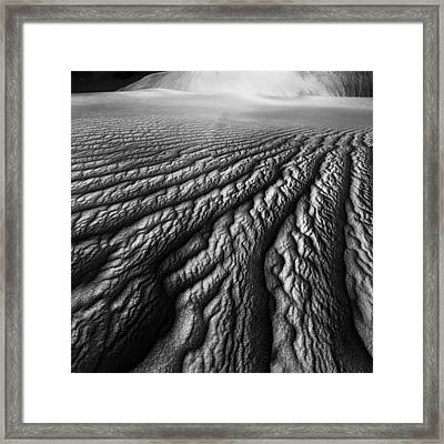 Desert Dreaming 1 Of 3 Framed Print by Julian Cook