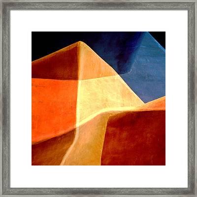 Desert Dunes Number 1 Framed Print