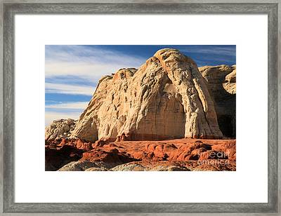 Desert Elephant Framed Print by Adam Jewell