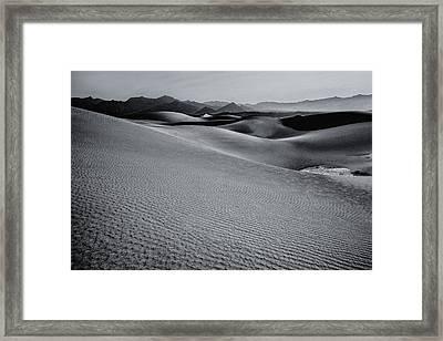 Desert Forms Framed Print