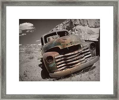 Desert Gem.. Framed Print