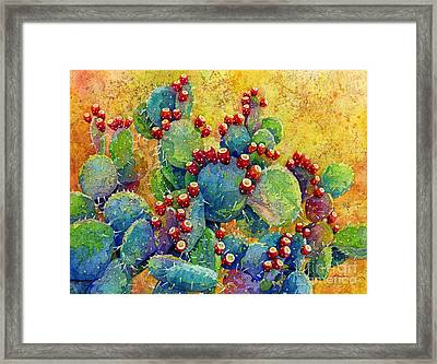 Desert Gems Framed Print by Hailey E Herrera
