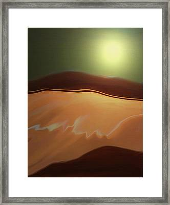 Desert Heat II Framed Print by Jennifer Muller