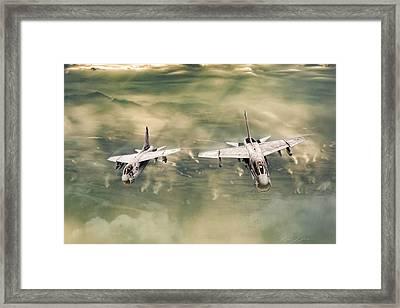Desert Heat Framed Print