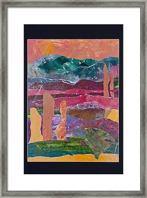 Desert In Spring Framed Print