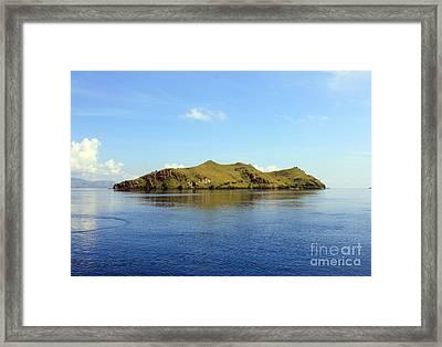 Desert Island Framed Print by Sergey Lukashin
