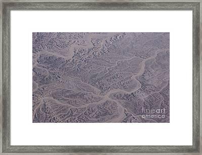 Desert Framed Print by Jan Wolf