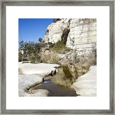 Desert Landscape 05 Framed Print by Arik Baltinester