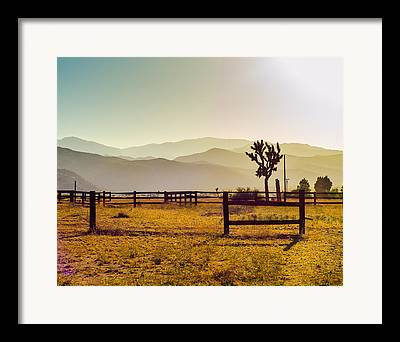 Pioneertown Framed Prints