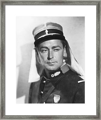 Desert Legion, Alan Ladd, 1953 Framed Print by Everett