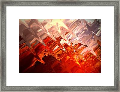 Desert Light Framed Print by Aidan Moran