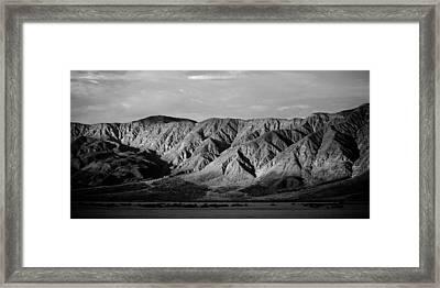 Desert Light Framed Print by Peter Tellone