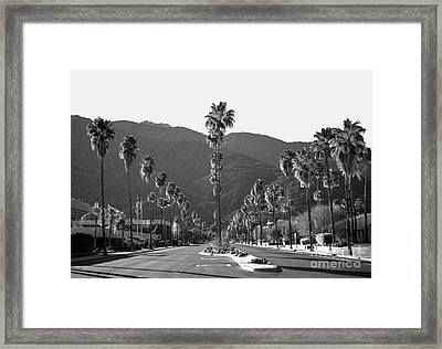 Desert Living Framed Print by Art K