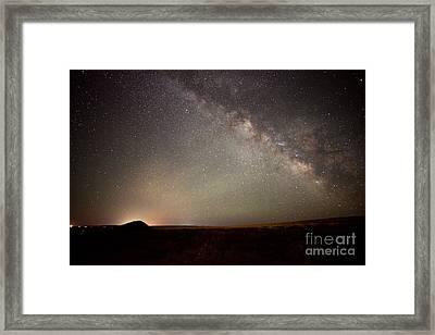 Desert Milky Way Framed Print by Dianne Phelps