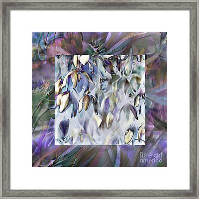 Desert Miracle In Bloom Framed Print by Ursula Freer