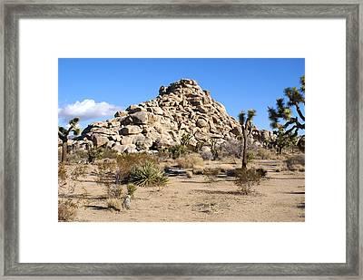 Desert Mound Framed Print