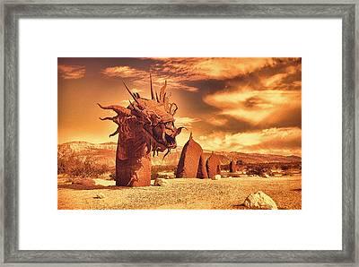 Desert Ness Framed Print