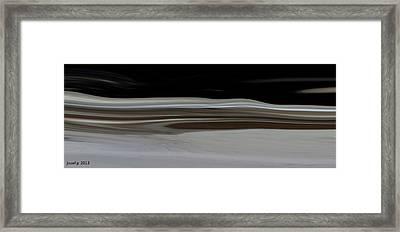 Desert Of Trust Two Framed Print by Sir Josef - Social Critic -  Maha Art
