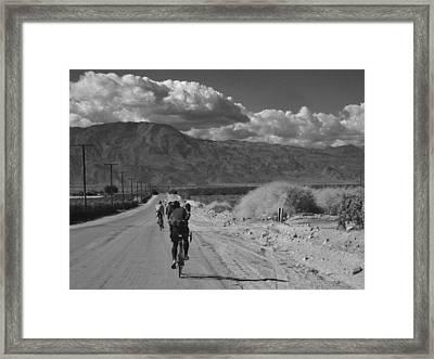 Desert Ride Framed Print