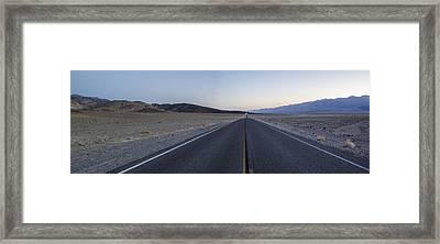 Desert Road Framed Print by Brad Scott