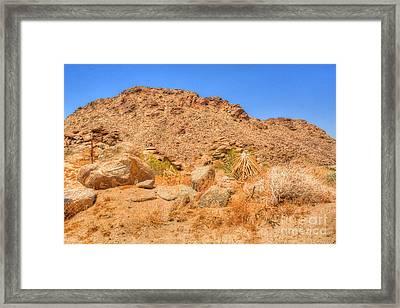 Desert Rocks Framed Print by Deborah Smolinske