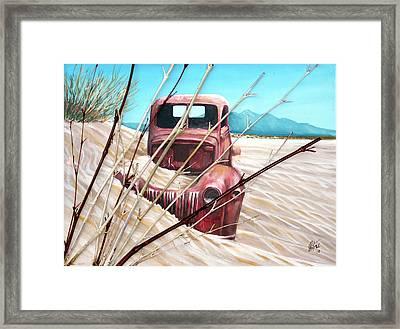 Desert Rose Framed Print by Gregory Peters