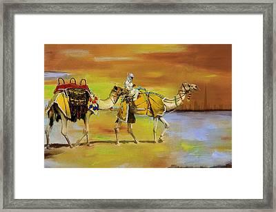 Desert Safari Framed Print by Corporate Art Task Force