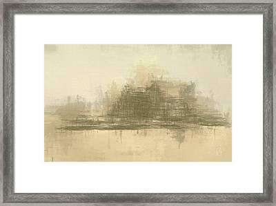 Desert Sands Framed Print by Lonnie Christopher
