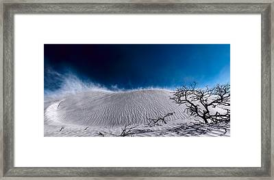 Desert Sandstorm Framed Print by Julian Cook