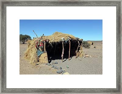 Desert Shelter Framed Print