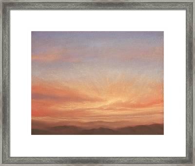 Desert Sky B Framed Print