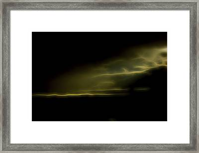 Desert Spotlight Framed Print by William Horden