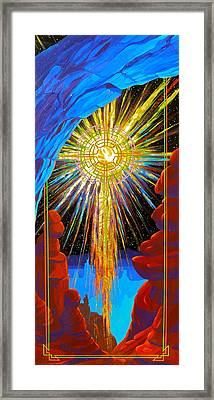 Desert Star  Framed Print by Alan Johnson